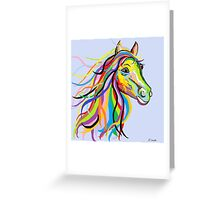 Horse of a Different Color Greeting Card