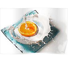 Orange Art Poster