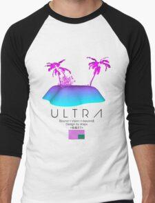 Shxps X Ultra collab Men's Baseball ¾ T-Shirt