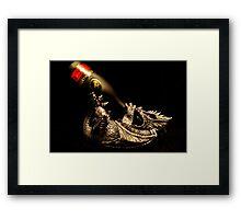 Drunken Dragon Framed Print