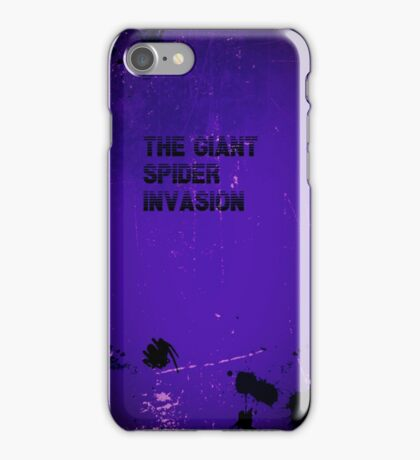 Giant Spider Invasion iphone case iPhone Case/Skin