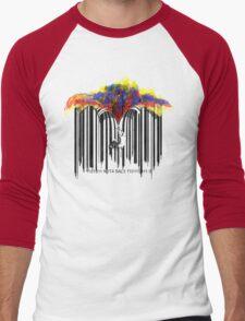 unzip the colour wave Men's Baseball ¾ T-Shirt