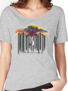 unzip the colour wave Women's Relaxed Fit T-Shirt