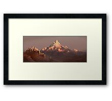 Ancient citadel Framed Print