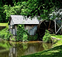 Mabry's Mill Revisited by Carolyn  Fletcher
