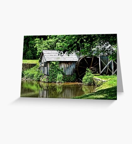 Mabry's Mill Revisited Greeting Card