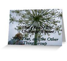 Challenge Winner Banner - Big Greeting Card
