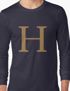 Weasley Sweater Letter H Long Sleeve T-Shirt