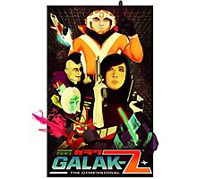 Galak-Z Vintage Poster Photographic Print