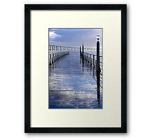 Bridges In The Sky Framed Print