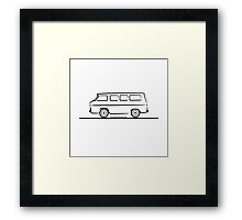 Chevrolet Corvair Greenbrier Framed Print