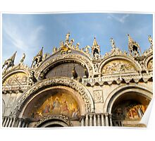 arches in Venice Poster