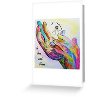 In Love with Jesus Greeting Card