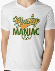 Musky Maniac Mens V-Neck T-Shirt
