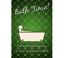 Bath Time! Photographic Print