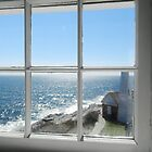 Looking Out the Light House Window by quiltmaker
