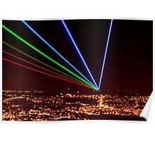 LASER LIGHT Poster