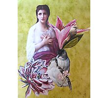 Penelope With Birds Photographic Print