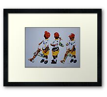 Frequent  Flyer Framed Print