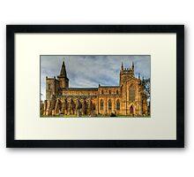 Abbey Church of Dunfermline Framed Print