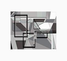 Gray Geometry Unisex T-Shirt