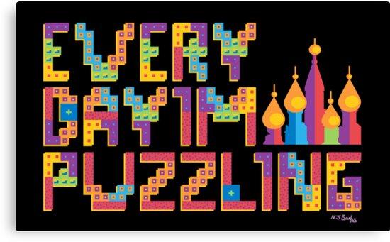 Tetris Puzzling by Nicholas Beales