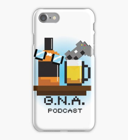 G.N.A. Podcast iPhone Case/Skin