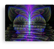 Twisted Lake Canvas Print