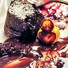 Maurice discovers Molten Cake. by Susana Weber