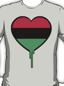 AFRICAN AMERICAN BLEEDING HEART T-Shirt