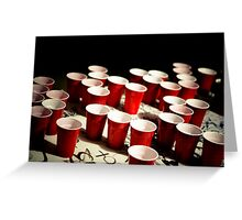 Cupids cups Greeting Card