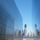 """9/11 Memorial, """"Empty Sky"""", New World Trade Center in Backround,Liberty State Park, Jersey City, New Jersey   by lenspiro"""