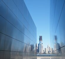 "9/11 Memorial, ""Empty Sky"", New World Trade Center in Backround,Liberty State Park, Jersey City, New Jersey   by lenspiro"
