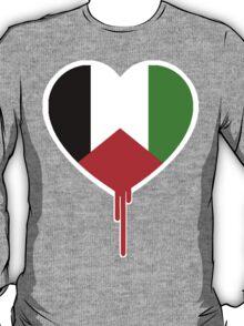 PALESTINE BLEEDING HEART T-Shirt