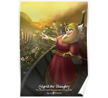 Sigrid the Haughty - Rejected Princesses Poster