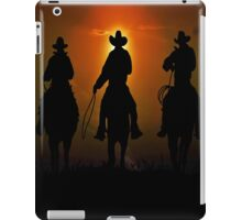 Riders To The West iPad Case/Skin