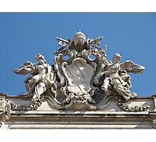 Trevi fountain sculpture Photographic Print