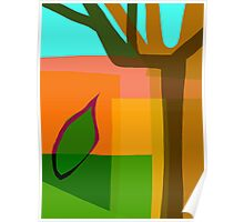 Tree With Leaf Poster