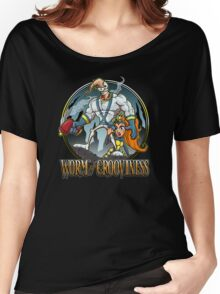 Worm of Grooviness Women's Relaxed Fit T-Shirt