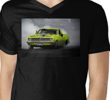 OUTLAW Burnout Mens V-Neck T-Shirt