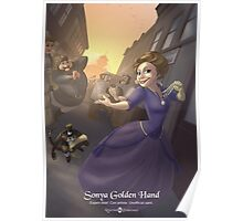 Sonya Golden Hand - Rejected Princesses Poster