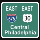 EAST PHILLY 676 FREEWAY by S DOT SLAUGHTER