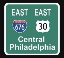EAST PHILLY 676 FREEWAY by SOL  SKETCHES™