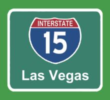 INTERSTATE 15: LAS VEGAS by SOL  SKETCHES™