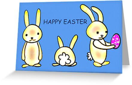 Happy Easter 2 by Margaret Stevens