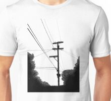 Bluff Powerlines Unisex T-Shirt