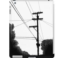 Bluff Powerlines iPad Case/Skin