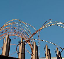 A Fence in Fremantle by kalaryder