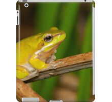 Dwarf Tree Frog - Litoria fallax iPad Case/Skin