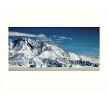 Transantarctic Range Art Print
